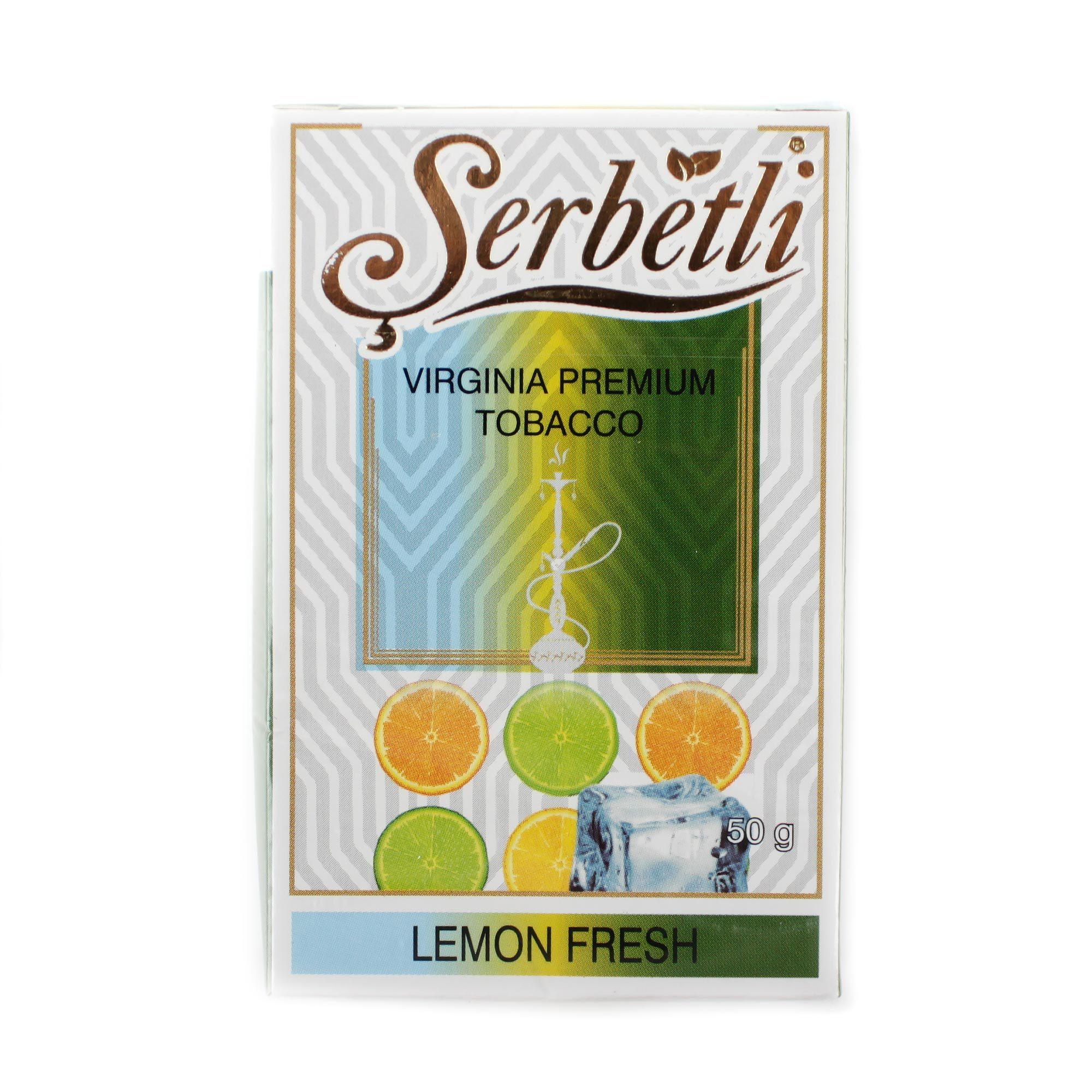 Табак для кальяна Serbetli Lemon Fresh 50 гр