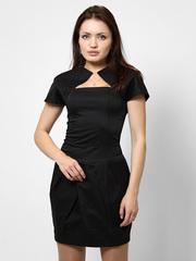 0905 сарафан женский, черный