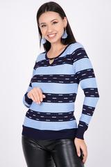 """<p>Модный пуловер """"Вуаля"""" - это именно та часть женскогогардероба, которая согревает Вас в прохладное время года, позволяя выглядеть модно и стильно в любой ситуации.</p>"""