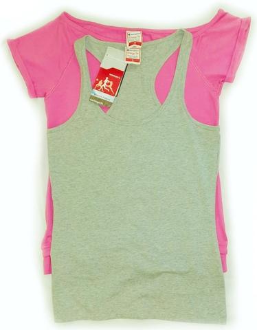 Комплект женская футболка с кенгуру с майкой CHAMPION 106971 (2792)