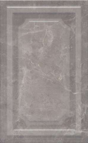 Плитка настенная Гран Пале серый панель 6354  250х400