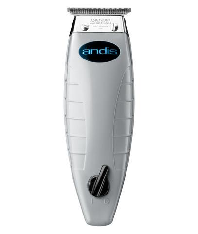 Триммер окантовочный Andis T/Outliner, 0,1 мм, аккум/сетевой,12 Вт, 4 насадки, белый