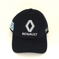 Кепка с вышитым логотипом Рено (Кепка RENAULT) темно-синяя