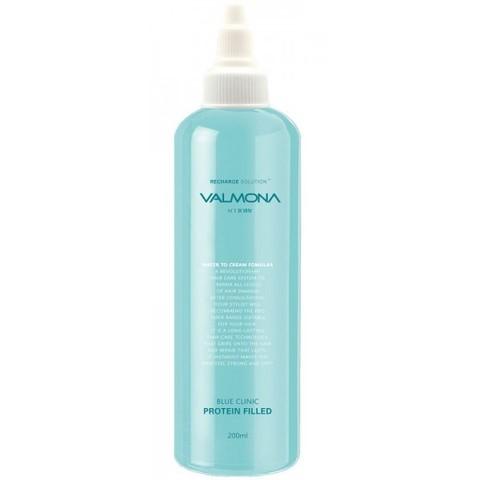 Маска для волос УВЛАЖНЕНИЕ VALMONA Blue Clinic Protein Filled, 200 мл