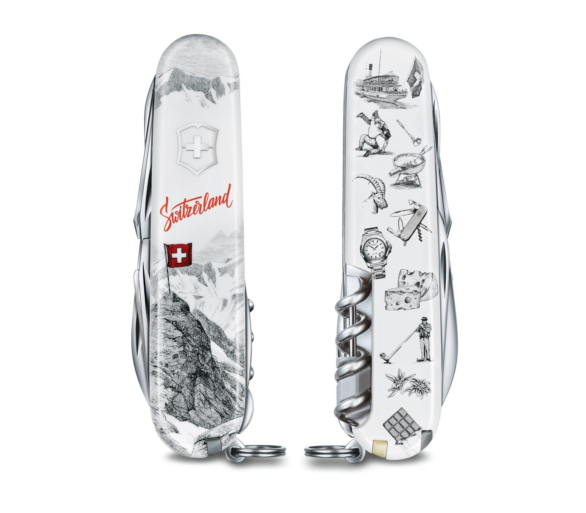 Складной коллекционный нож Victorinox Explorer Swiss Spirit Special Edition 2020 (1.6705.7L20) | Wenger-Victorinox.Ru