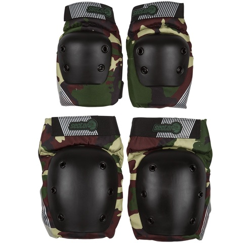 Защита комплект Sector 9 PURSUIT - LIGHTWEIGHT ELBOW AND KNEE PAD SET CAM