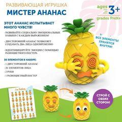 Развивающая игрушка Мистер Ананас (для изучения эмоций, 30 элементов) Learning Resources, арт. LER6373