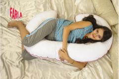 Farla. Подушка для беременных с шариками Care C, вид 2