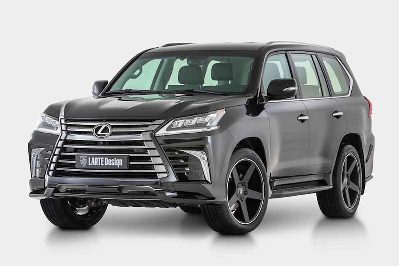 Обвес Larte Design для Lexus LX models (2016-2017)
