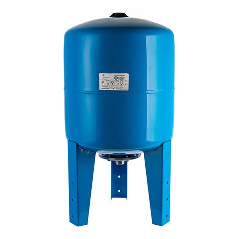Гидроаккумулятор STOUT - 200л. (вертикальный, со сменной мембраной, на опорных стойках)