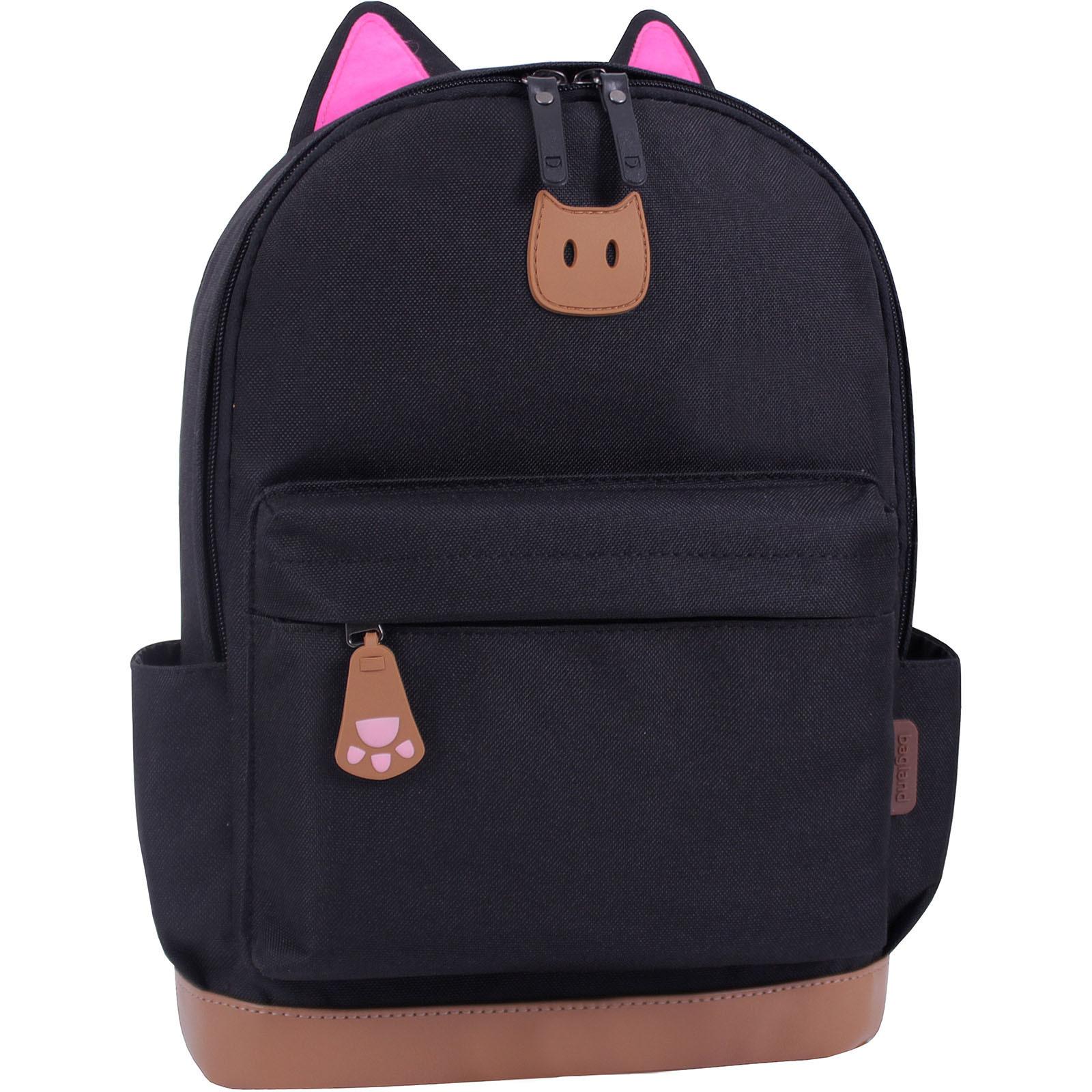 Женские рюкзаки Рюкзак Bagland Ears черный (0054566) IMG_0920.JPG