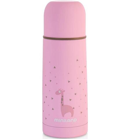 Miniland Silky Thermos Детский термос для жидкостей розовый, 350 мл