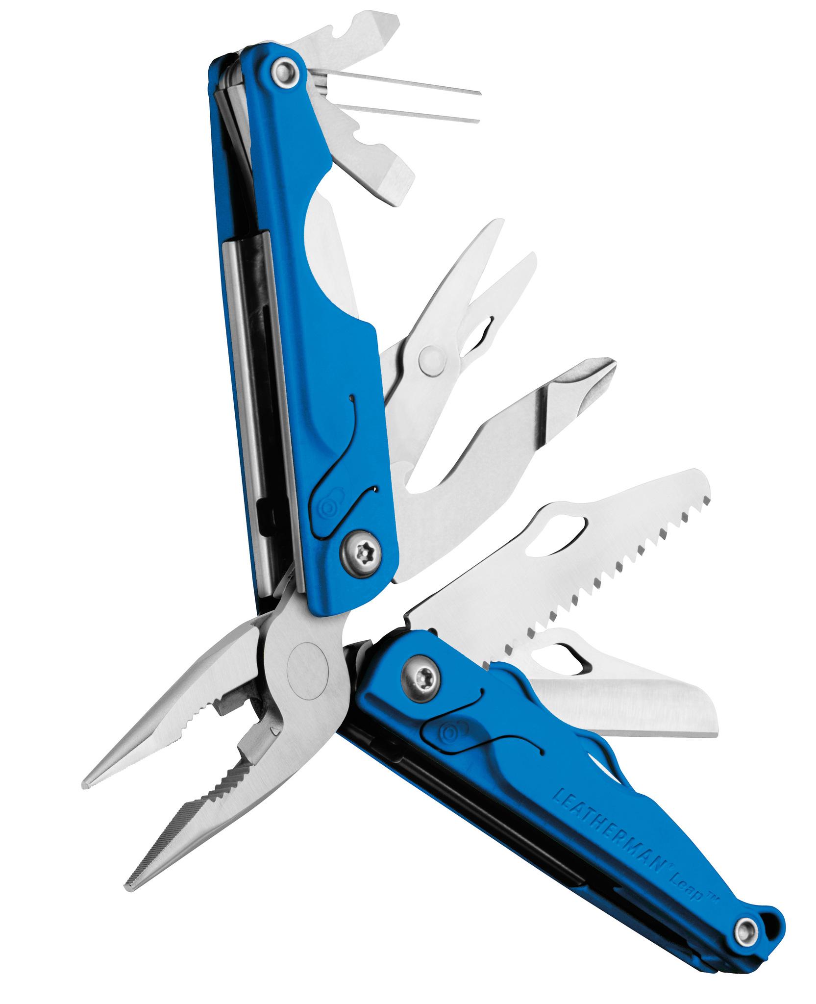 Мультитул Leatherman Leap, 12 функций, синий