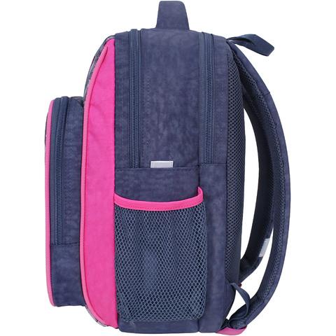 Рюкзак школьный Bagland Школьник 8 л. серый 906 (0012870)