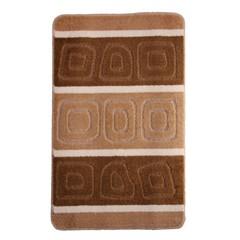 Коврик для ванной BANYOLIN SILVER 60х100 см ворс, коричневый