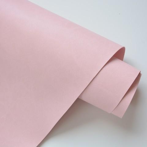 Кожзам переплетный матовый, светло-розовый