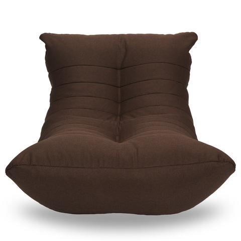 Бескаркасный лежак «Кокон», Тёмный шоколад