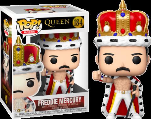 Фигурка Funko Pop! Rocks: Queen - Freddie Mercury (King)