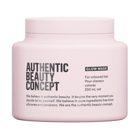 AUTHENTIC BEAUTY CONCEPT Маска для блеска натуральных и окрашенных волос Glow