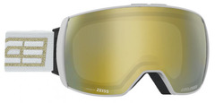 Очки горнолыжные Salice 605DARWF WHITE-GOLD RW GOLD + SONAR