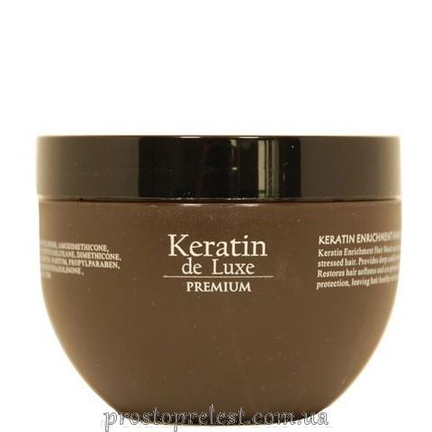 De Luxe Keratin Enrichment Hair Mask - Маска відновлююча з кератином