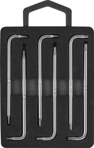 H09MT06S Набор ключей торцевых TORX® с центрированным штифтом Т4-9, 6 предметов