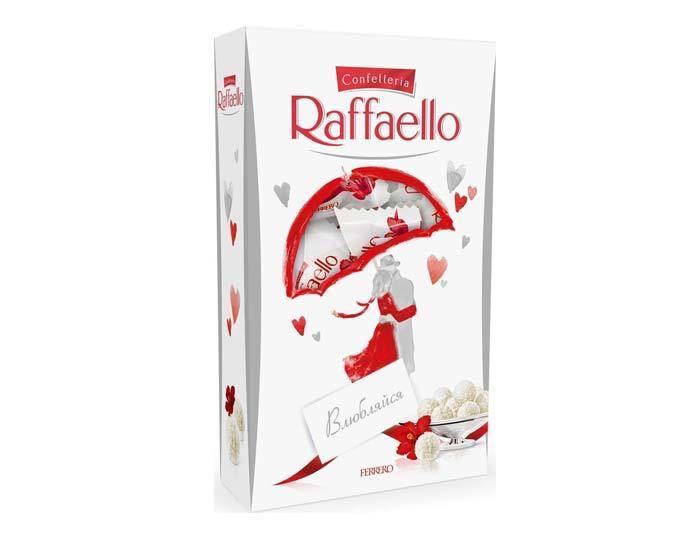 Конфеты с миндалем Raffaello, 70 г