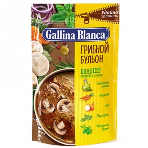 Бульон GALLINA BLANCA Грибной с зеленью 90 г РОССИЯ