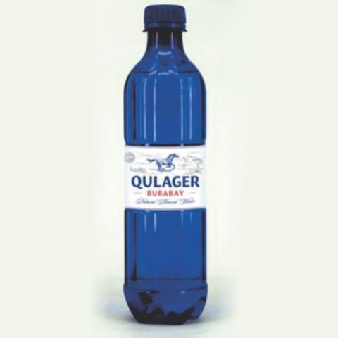 Вода минеральная TURAN Qulager Burabay газ 1 л пл/б КАЗАХСТАН