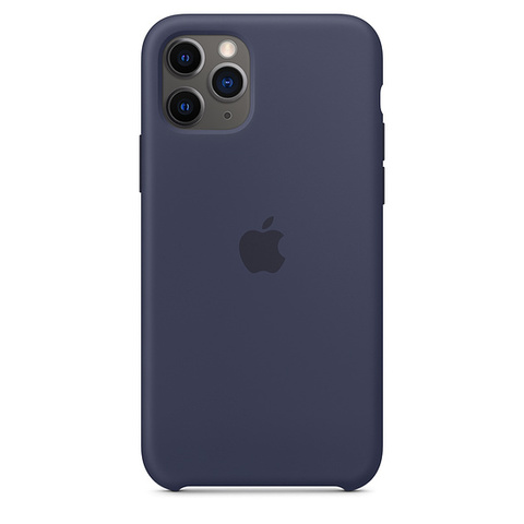 Чехол IP11 PRO MAX Silicone Case Midnight Blue
