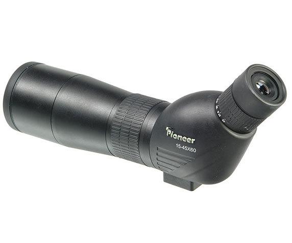 Окуляр трубы Veber Pioneer 15-45x60 с изогнутой оптической осью