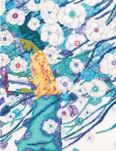 Стихи, сквозь белизну цветов