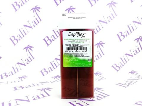 Воск для депиляции в картридже Depilflax, 110 гр. - Лесная ягода