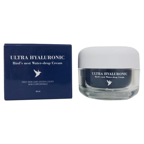 Esthetic House Ultra Hyaluronic Acid Bird's Nest Water-Drop Cream крем с гиалуроновой кислотой и экстрактом ласточкиного гнезда