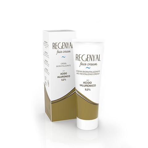 Крем увлажняющий биоревитализирующий REGENYAL face cream, 50 мл.