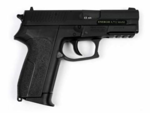 Пистолет пневматический Swiss Arms SP 2022 металл, черный