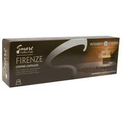 Smart СС FIRENZE (10 шт) Кофе в капсулах для кофемашин Nespresso