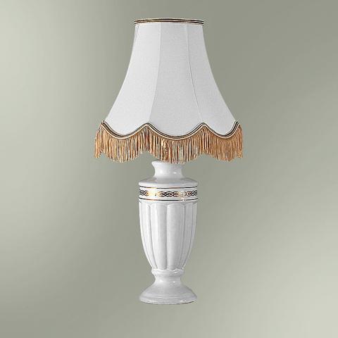 Настольная лампа с абажуром 24-25М/9663 НАДЕЖДА