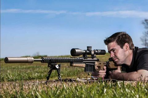 Оптический прицел NIGHTFORCE ATACR™ 5-25×56 SFP Zerostop™ .25 MOA DigIllum™ PTL MOAR™ (C553)