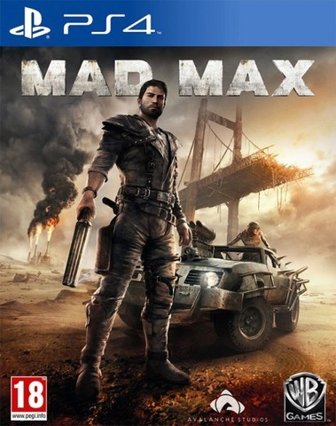 Mad Max (PS4, английская версия)