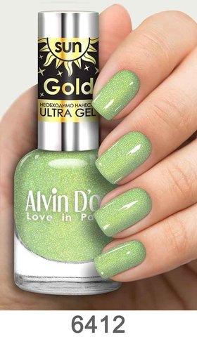 Alvin D`or Лак д/ногтей SUN GOLD тон 6412