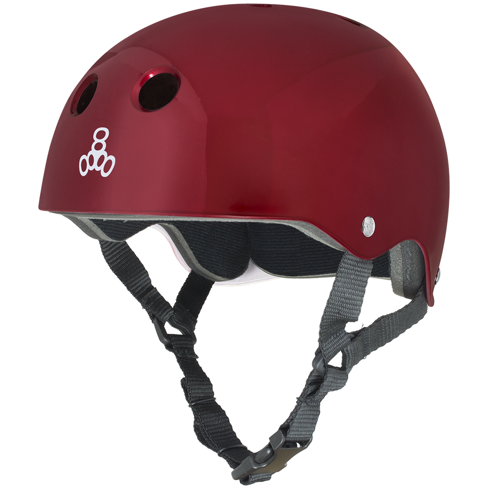 шлем для лонгборда и скейтборда triple 8