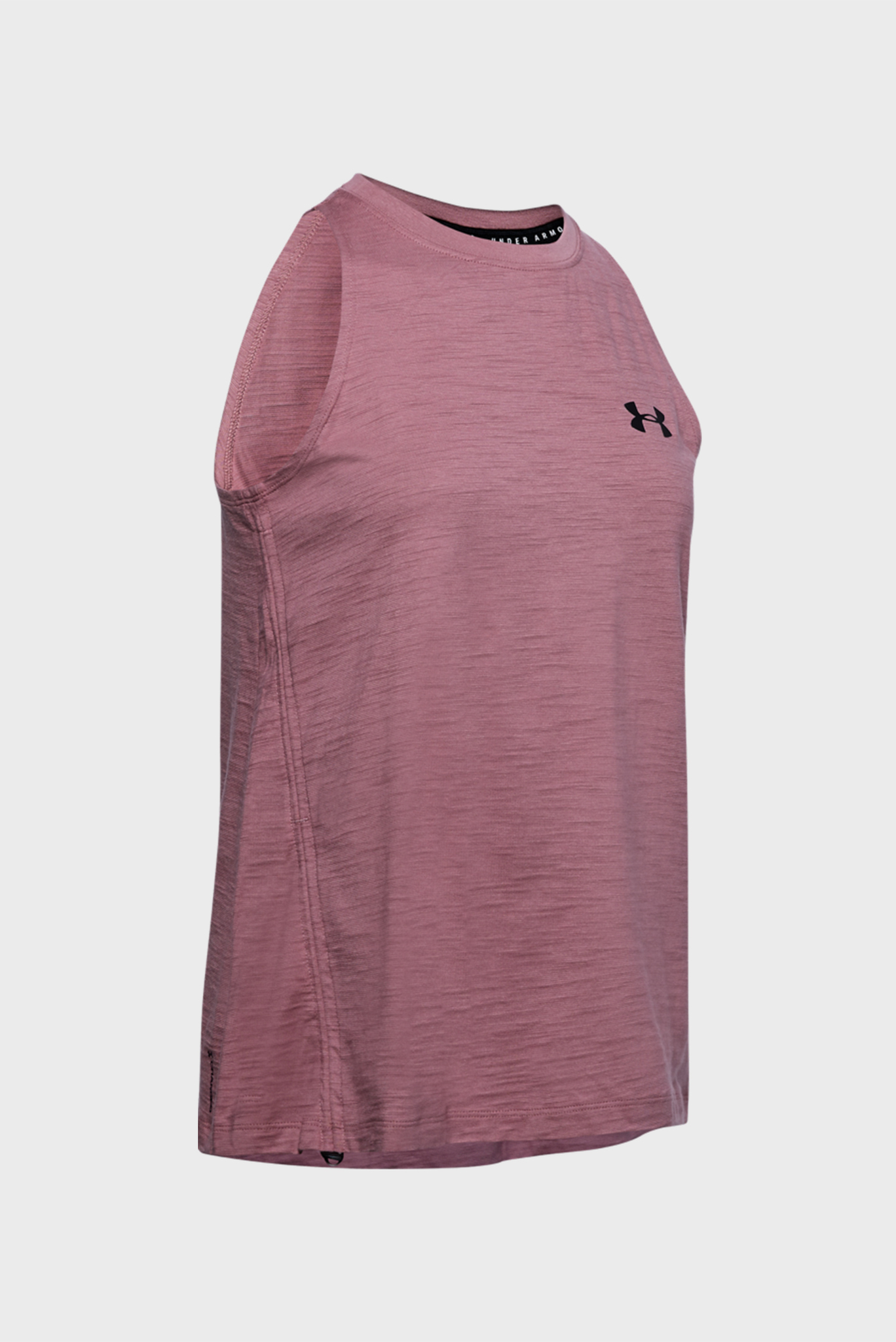 Женская розовая майка UA Charged Cotton Tank Adjustable Under Armour