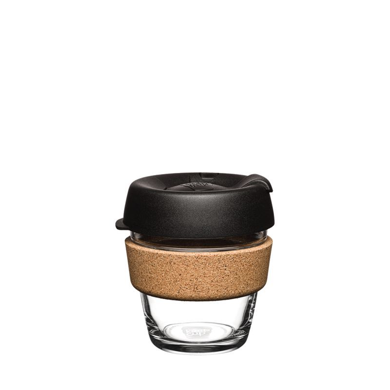 Кружка KeepCup Brew - Cork Edition 6oz (225мл) Black