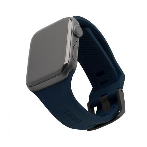 Ремень силиконовый UAG Scout Silicone для Apple Watch 44/42 темно-синий (Mallard)