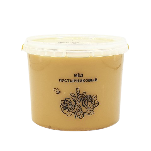 Мёд натуральный ПУСТЫРНИКОВЫЙ, 1 кг