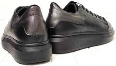 Женские низкие кеды кроссовки на платформе EVA collection 0721 All Black.