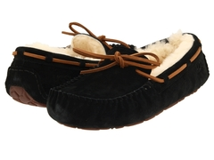 UGG Moccasins Dakota for Women Black (с мехом)