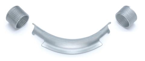 Фиксатор поворота Rehau Rautitan 16 мм. 90° отвод направляющий с кольцами (арт. 11388811002)