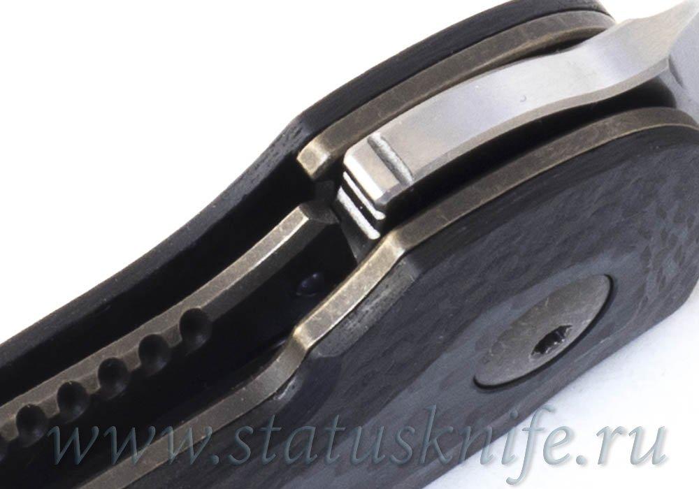 Нож Bob Terzuola Compact Tactical Folder Carbon - фотография